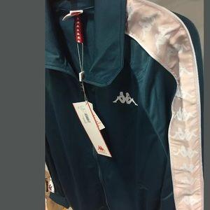 NWT KAPPA MEN zip Jacket jogging sport activewear